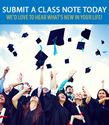Submit a Class Note Today!