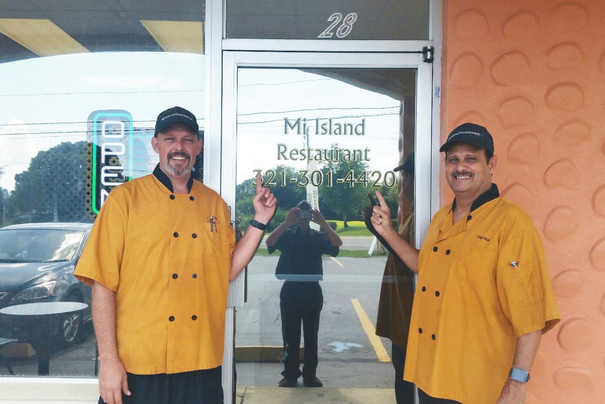 Keiser Alumni   Jim Kiser & Rick Vega