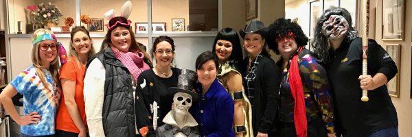 CRSA Team Celebrates Halloween